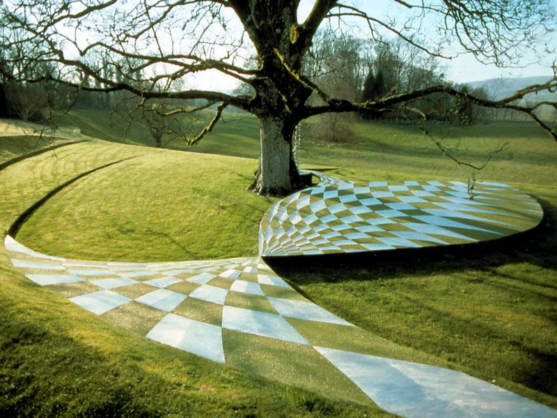 portrack the garden of cosmic speculation. Black Bedroom Furniture Sets. Home Design Ideas