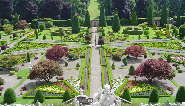 Drummond Castle, Perth and Kinross