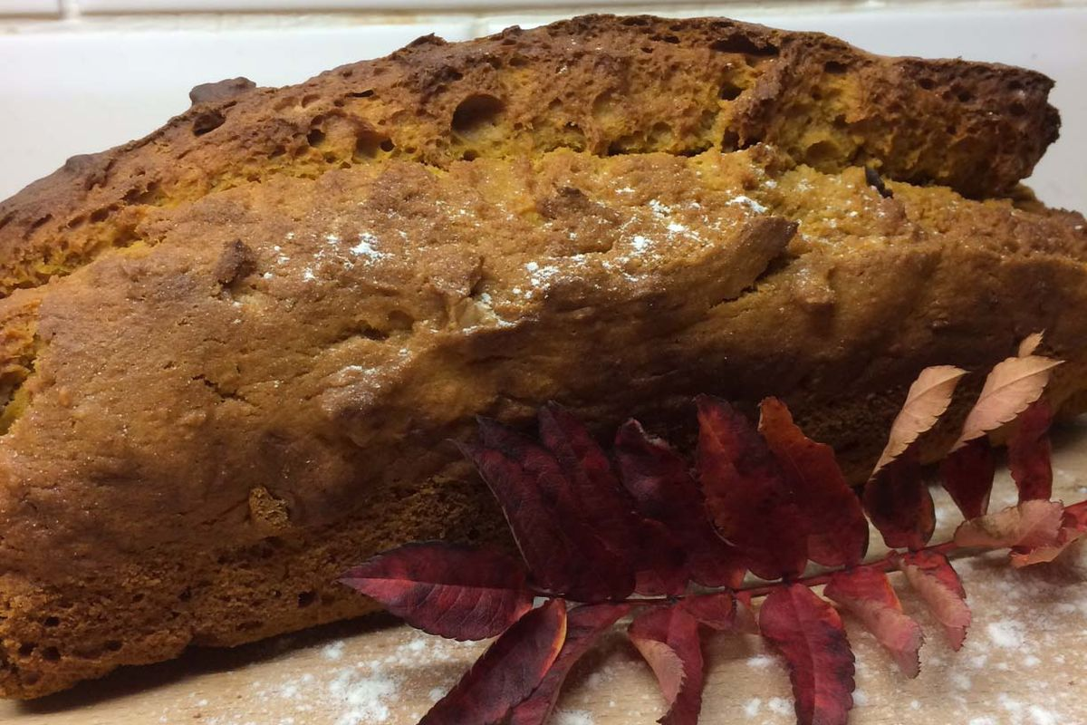 Autumnal delight - pumpkin bread recipe
