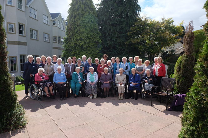 Retired Queens Nurses gather in Inverness