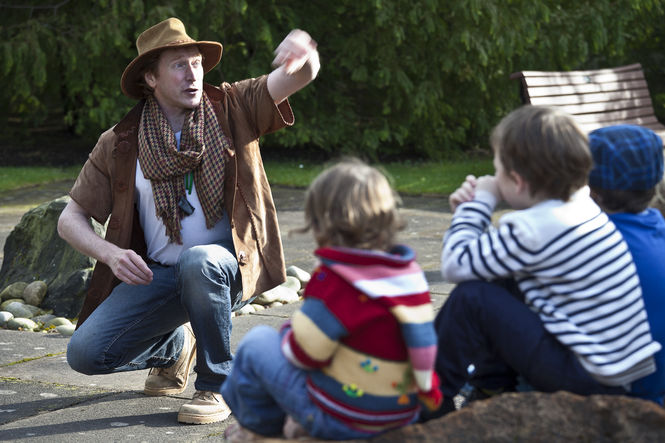 Ken Shapley shares Nature Tales at the Royal Botanic Gardens
