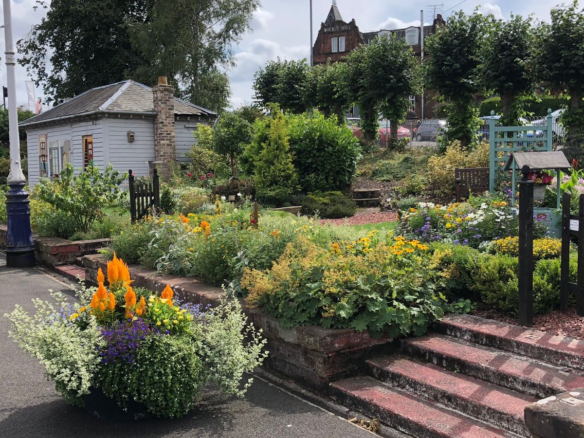 Dumfries Station Garden