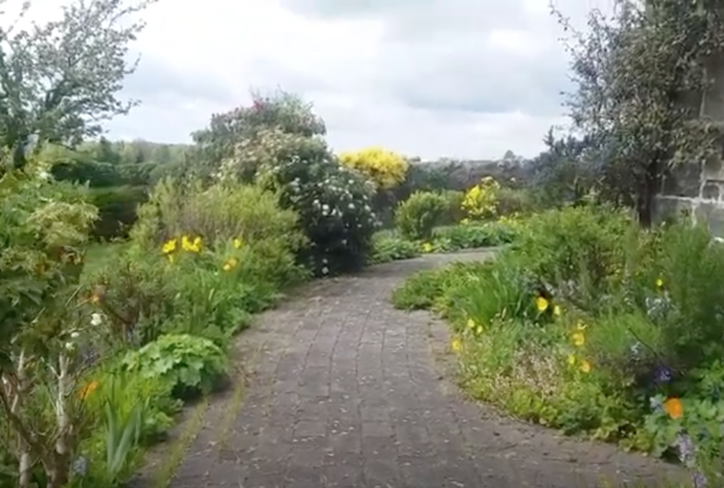 Virtual Tour of a Garden near Cupar, Fife