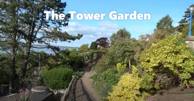 The Tower, Fife Virtual Garden Tour in late May
