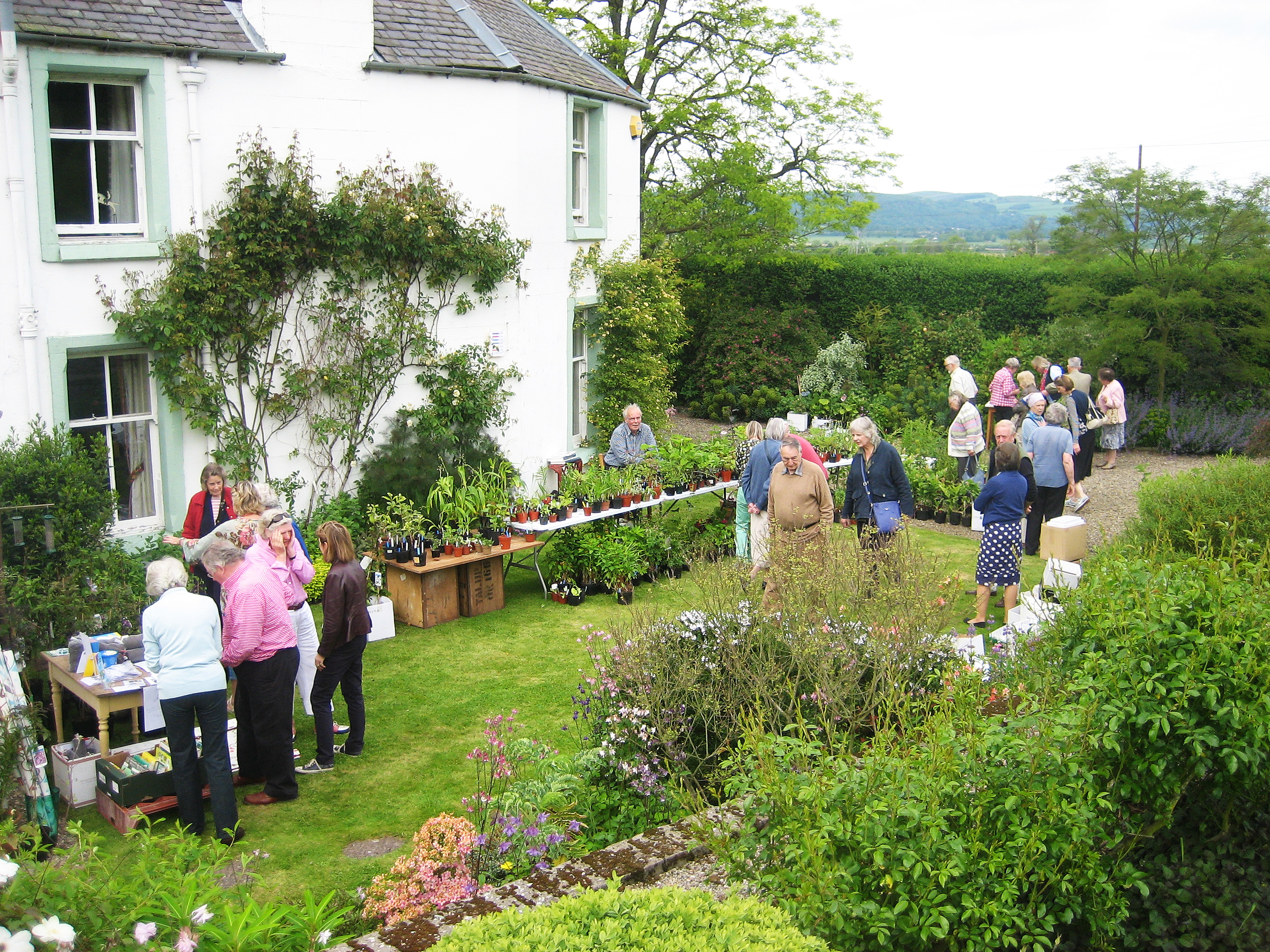 SGS Plant Sale at Pitcurran House